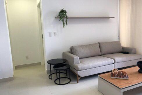 5 Apartamento venda Studio Homero, 59,90m², 1 suíte, varanda, 1 vaga, piscina,Teresina-PI