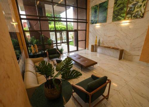 9 Apartamento venda Studio Homero, 59,90m², 1 suíte, varanda, 1 vaga, piscina,Teresina-PI