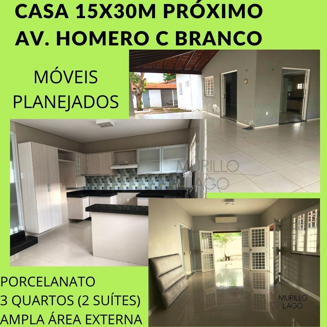 Casa venda Ininga ,15x30m, 3 quartos ,2 suítes próximo av. Homero C Branco em Teresina-PI