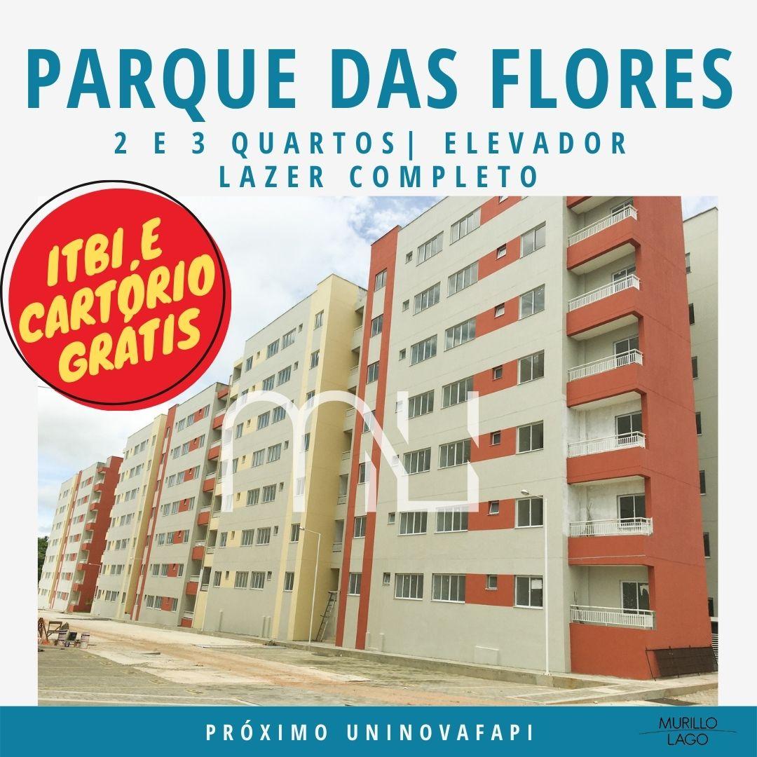 Apartamento venda condomínio Parque das Flores, 2 e 3 quartos com elevador em Teresina-PI – Murillo Lago Imóveis