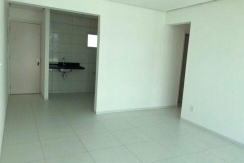 1 Apartamento venda no condomínio Reserva Helicônia com 3 quartos sendo 1 suíte e 2 vagas no bairro Uruguai próximo Novafapi em Teresina-PI
