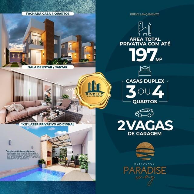 Paradise Way Residence, condomínio de casas ao lado Terras Alphaville em Teresina-PI