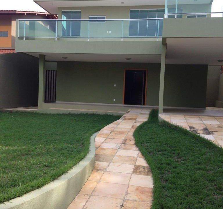 1 casa duplex 4 quartos no bairro Ininga