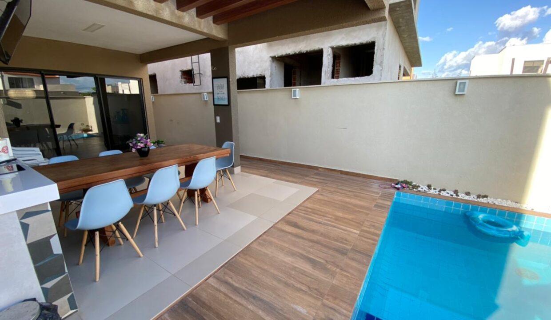 20 Casa duplex, 4 suítes, Terras Alphaville, energia solar insatalada, Teresina-PI