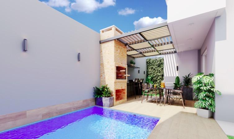 9 Paradise way residence,condomínio de casas, 3 ou 4 quartos ao lado do Terras Alphaville em Teresina-PI