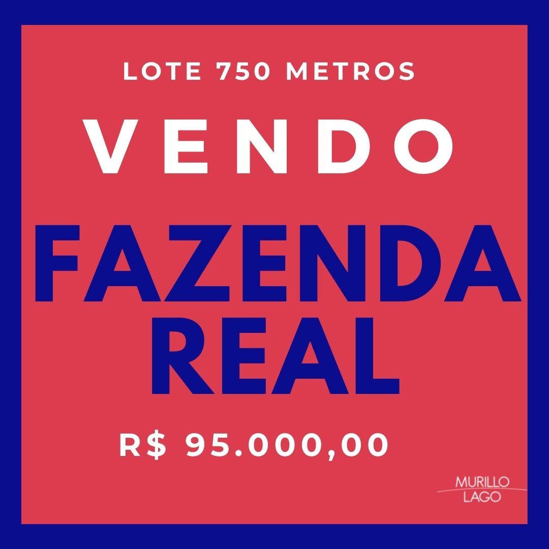 Lote venda no condomínio Fazenda Real em Teresina-PI