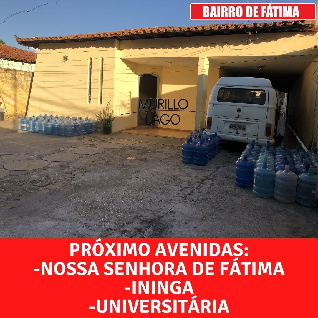 Casa à venda, 4 quartos, 390 metros no bairro de Fátima em Teresina-PI