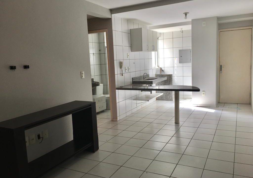 1 Apartamento para venda, 2 quartos sendo 1 suíte, térreo na avenida Presidente Kennedy em Teresina-PI