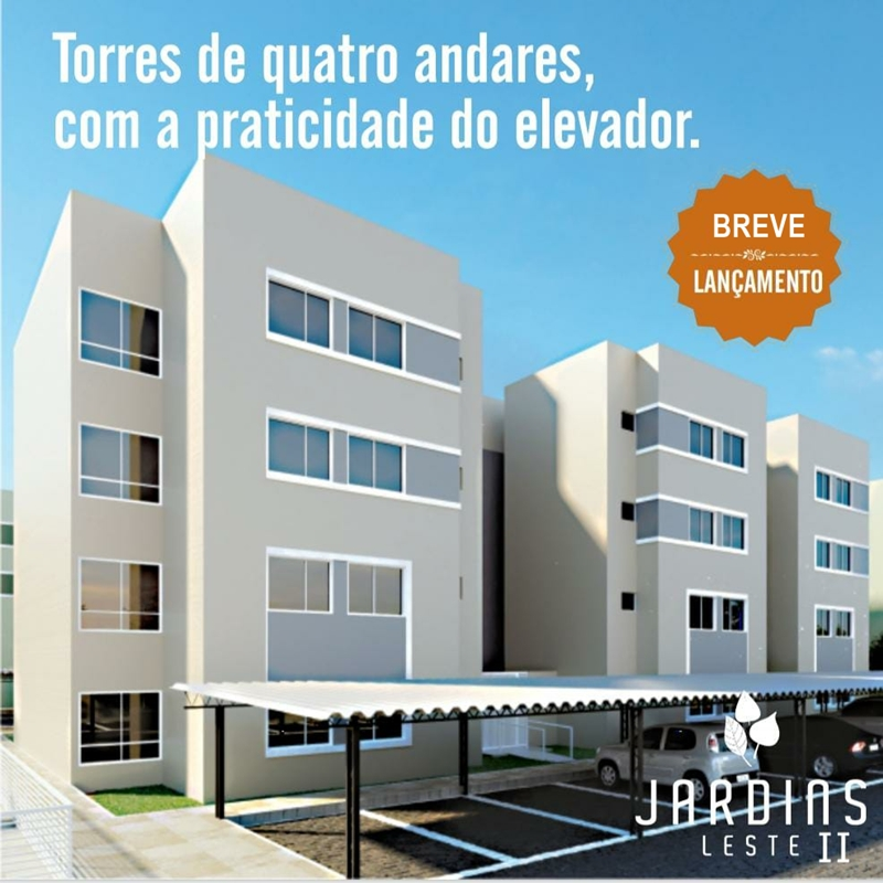 JARDINS LESTE 2 | ELEVADOR | 03 QTS |01 VAGA Teresina-PI