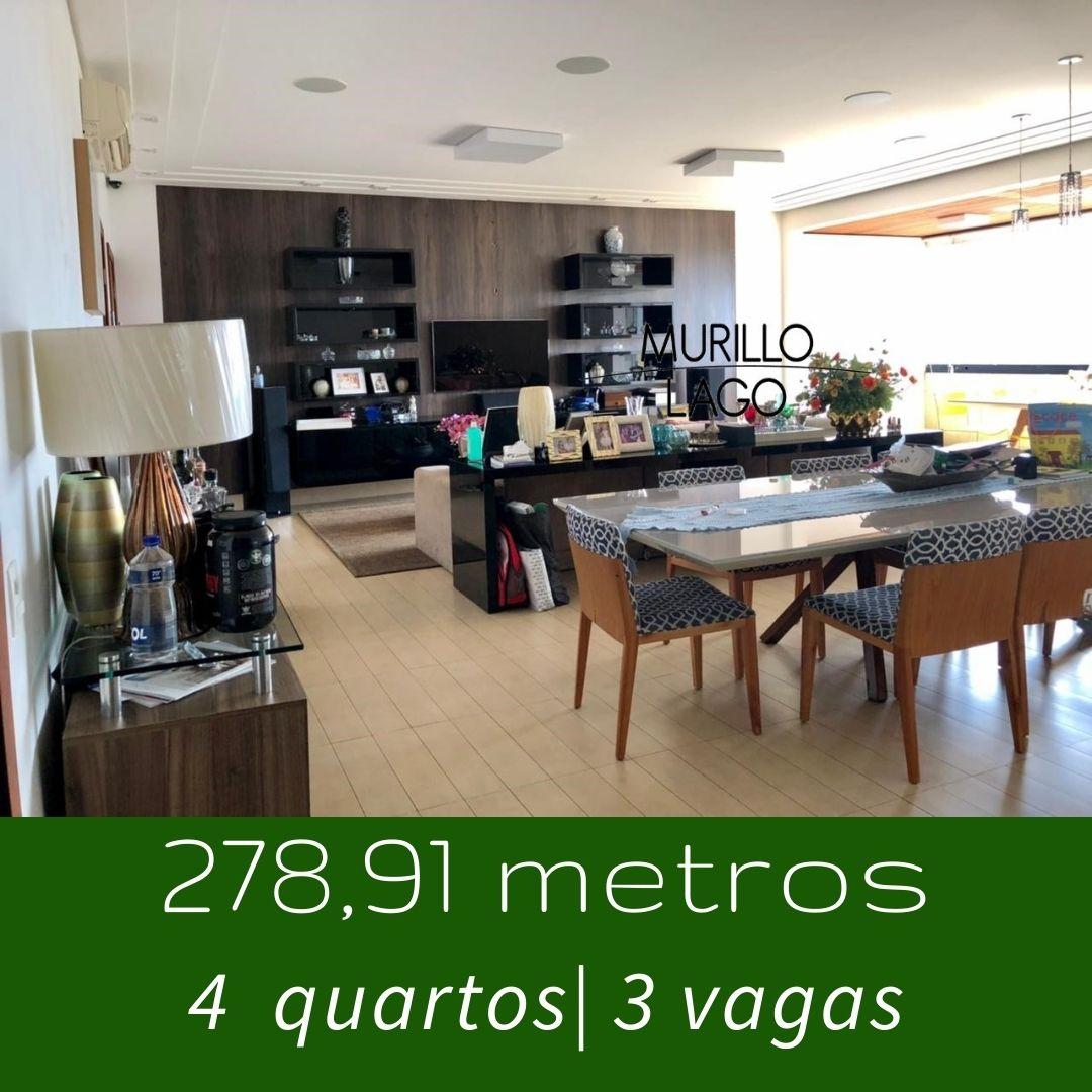 Apartamento para venda, 278 metros, 4 quartos ao lado do shopping Rio Poty na avenida Marechal Castelo Branco em Teresina-PI