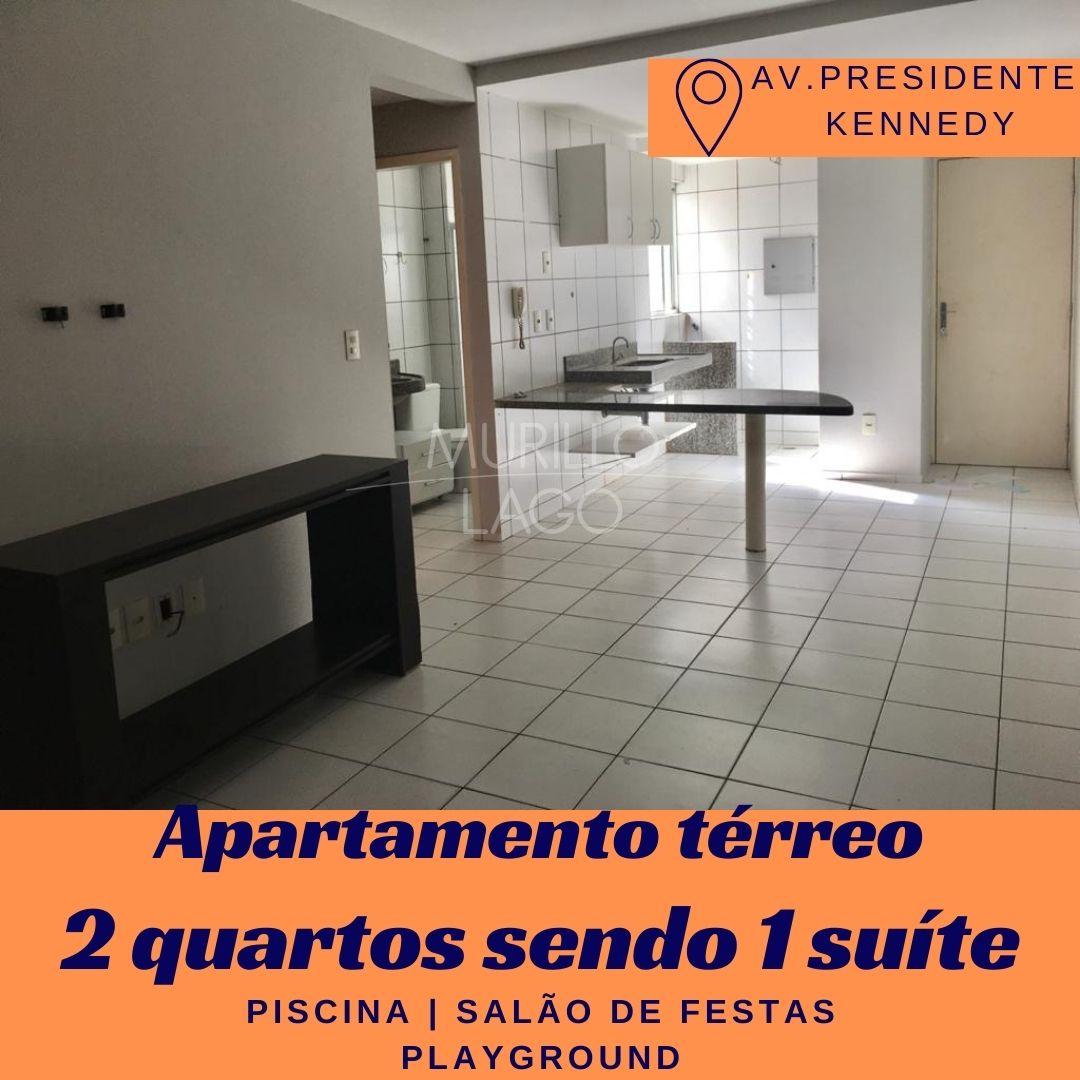 Apartamento para venda, 2 quartos sendo 1 suíte, térreo na avenida Presidente Kennedy em Teresina-PI