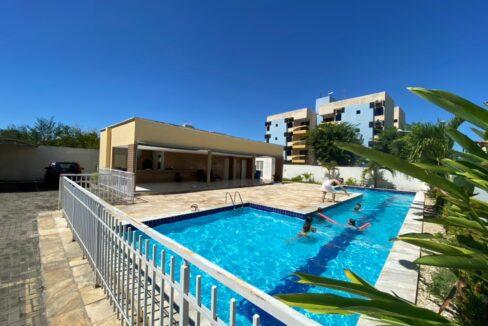 1 Apartamento para venda com 2 quartos sendo 1 suíte, elevador, piscina, 1 vaga de garagem próximo avenida João XXIII em Teresina-PI