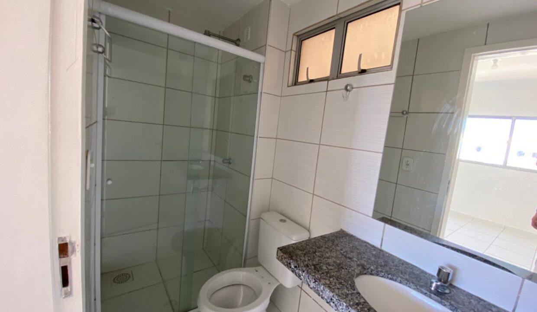 10 Apartamento para venda com 2 quartos sendo 1 suíte, elevador, piscina, 1 vaga de garagem próximo avenida João XXIII em Teresina-PI