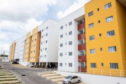 2.3 Cajuína Residence, 76m², 3 quartos sendo 1 suíte, Varanda, Elevador, Piscina, Salão de festas,Zona Leste Teresina