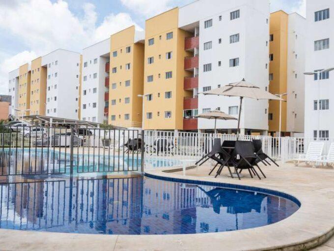 Cajuína Residence, 3 quartos sendo 1 suíte, térreo, área de lazer em Teresina-PI