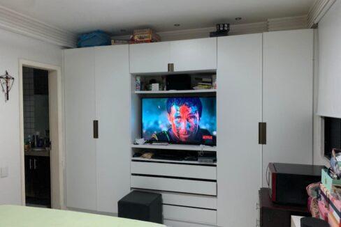 4 Apartamento 3 quartos sendo 1 suíte com móveis planejados e 2 vagas de garagem próximo avenida Dom Severino e avenida Homero Castelo Branco
