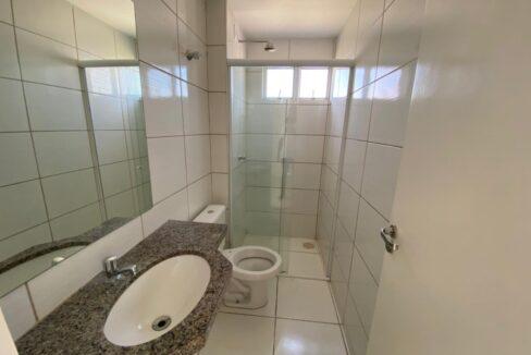 7 Apartamento para venda com 2 quartos sendo 1 suíte, elevador, piscina, 1 vaga de garagem próximo avenida João XXIII em Teresina-PI