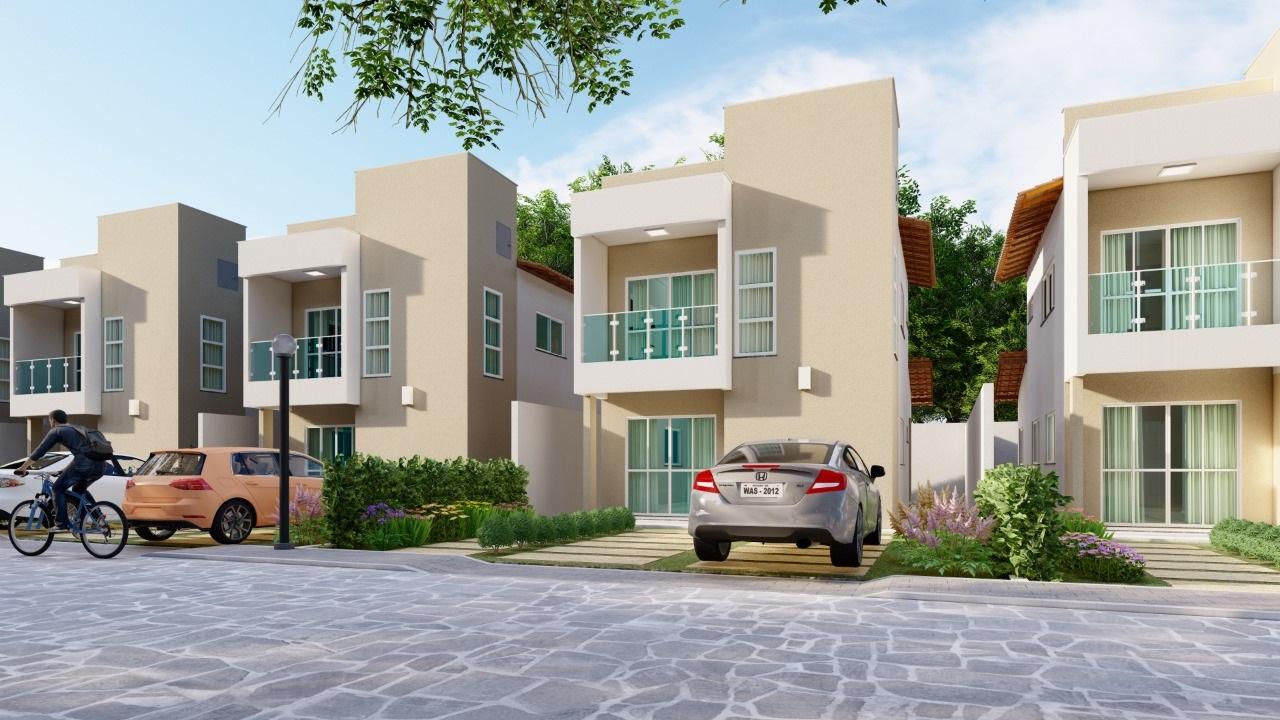 Solar do Gurupi Residence – Casas duplex de condomínio no bairro Gurupi em Teresina-PI