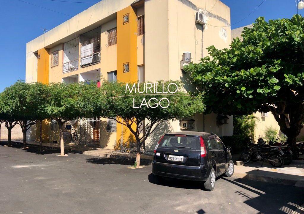 1.1 Apartamento para venda com 2 quartos sendo 1 suíte, condomínio fechado na avenida Joaquim Nelson no bairro Dirceu em Teresina-PI