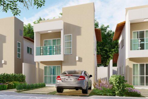 10 Solar do Gurupi Casa duplex condomínio fechado 3 suítes próximo ao clube da OAB em Teresina-PI