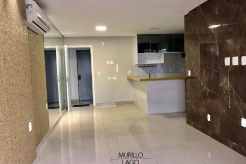 2.1 Apartamento para venda com 1 suíte reversível, 2 vagas na avenida jóquei clube em Teresina-PI
