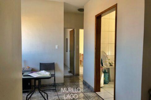 2.1 Apartamento para venda com 2 quartos sendo 1 suíte, condomínio fechado na avenida Joaquim Nelson no bairro Dirceu em Teresina-PI