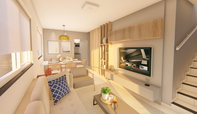 3 Solar do Gurupi Casa duplex condomínio fechado 3 suítes próximo ao clube da OAB em Teresina-PI
