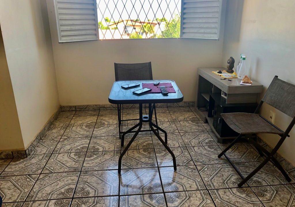 7 Apartamento para venda com 2 quartos sendo 1 suíte, condomínio fechado na avenida Joaquim Nelson no bairro Dirceu em Teresina-PI