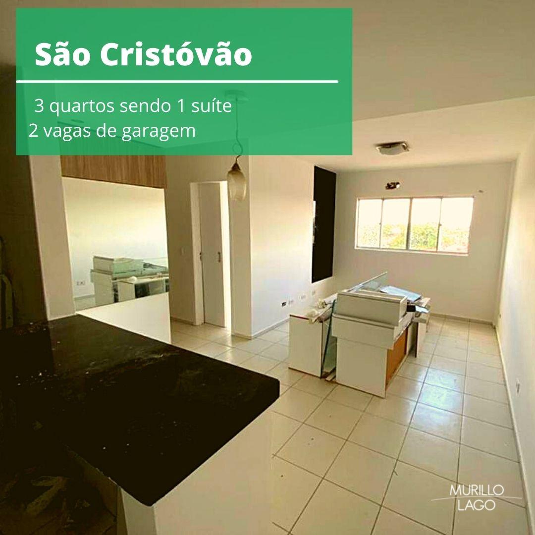 Apartamento para venda com 3 quartos sendo 1 suíte, elevador,2 vagas no bairro São Cristóvão em Teresina-PI
