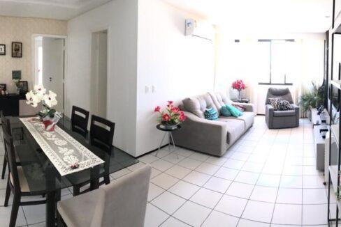 1 Apartamento para venda com 3 quartos no bairro de Fátima próximo shopping Riverside