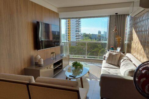 1 Apartamento venda com 3 quartos sendo 2 suítes e 2 vagas de garagem no bairro Ilhotas em Teresina-PI
