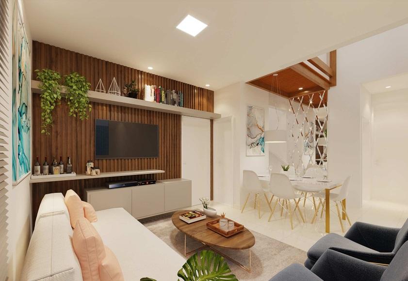 10 condominio-roma-prime-Condomínio fechado de casas Duplex com 96m²com 3 suítes ao lado do Terras Alphaville em Teresina-PI