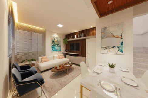 11 condominio-roma-prime-Condomínio fechado de casas Duplex com 96m²com 3 suítes ao lado do Terras Alphaville em Teresina-PI