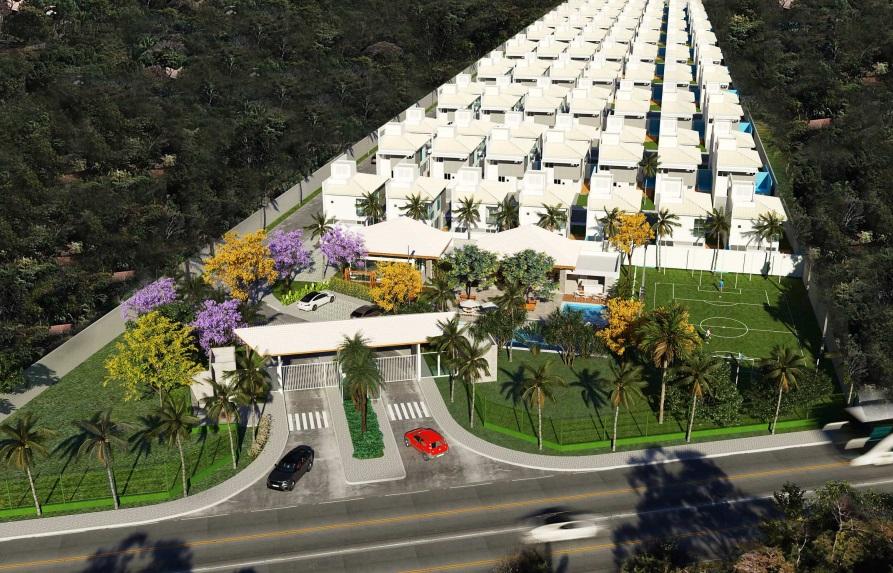 15 condominio-roma-prime-Condomínio fechado de casas Duplex com 96m²com 3 suítes ao lado do Terras Alphaville em Teresina-PI