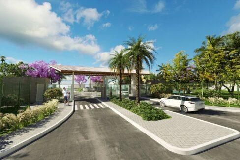 16 condominio-roma-prime-Condomínio fechado de casas Duplex com 96m²com 3 suítes ao lado do Terras Alphaville em Teresina-PI
