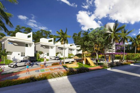 17 condominio-roma-prime-Condomínio fechado de casas Duplex com 96m²com 3 suítes ao lado do Terras Alphaville em Teresina-PI