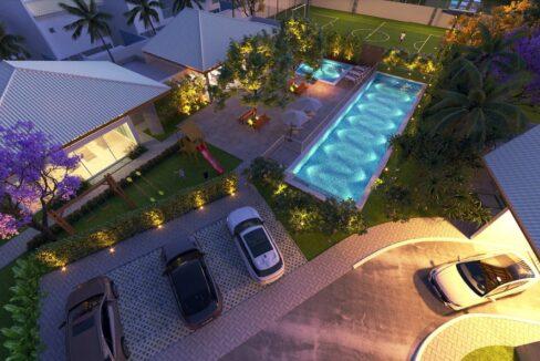 18 condominio-roma-prime-Condomínio fechado de casas Duplex com 96m²com 3 suítes ao lado do Terras Alphaville em Teresina-PI