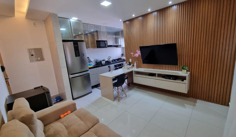 2 Apartamento para venda com 2 quartos em condomínio fechado em Teresina-PI