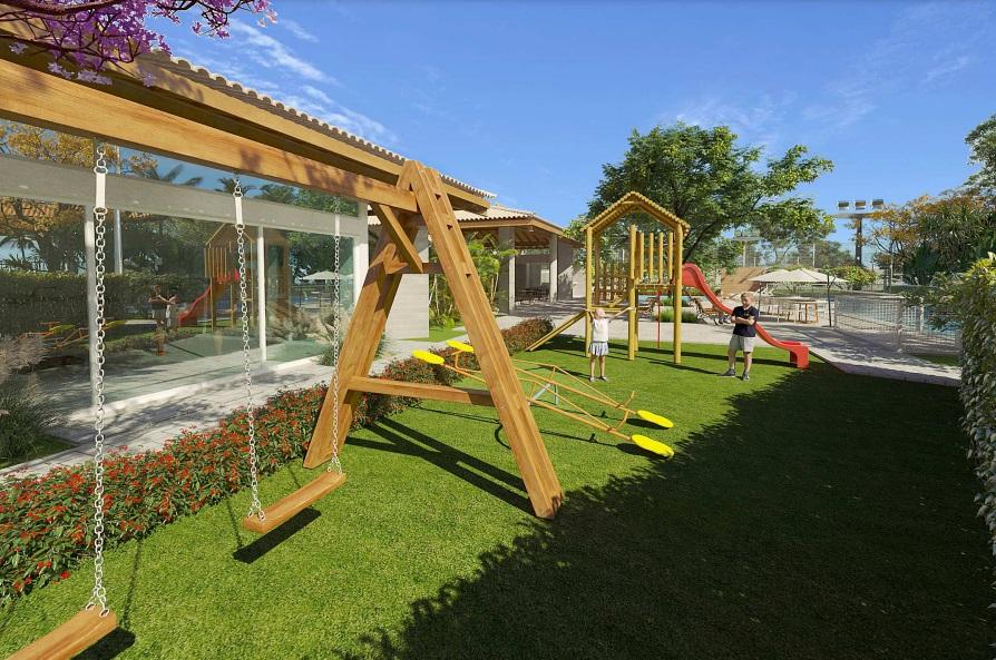 5 condominio-roma-prime-Condomínio fechado de casas Duplex com 96m²com 3 suítes ao lado do Terras Alphaville em Teresina-PI