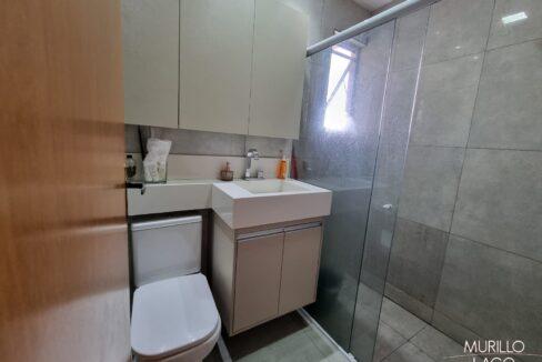 6 Apartamento para venda com 2 quartos em condomínio fechado em Teresina-PI