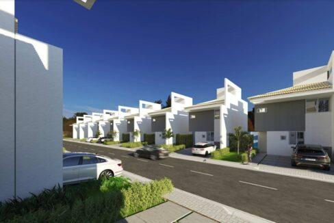 6 condominio-roma-prime-Condomínio fechado de casas Duplex com 96m²com 3 suítes ao lado do Terras Alphaville em Teresina-PI
