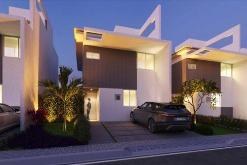 7 condominio-roma-prime-Condomínio fechado de casas Duplex com 96m²com 3 suítes ao lado do Terras Alphaville em Teresina-PI