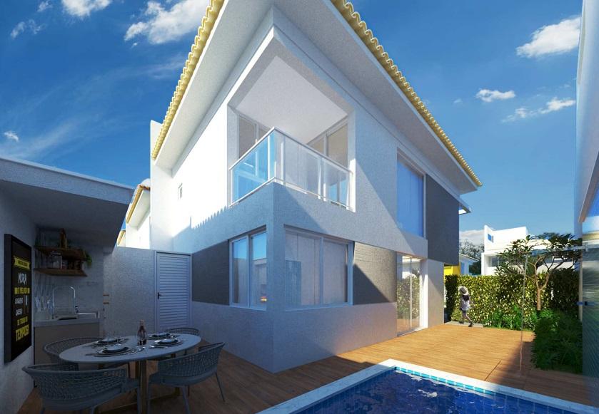 8 condominio-roma-prime-Condomínio fechado de casas Duplex com 96m²com 3 suítes ao lado do Terras Alphaville em Teresina-PI