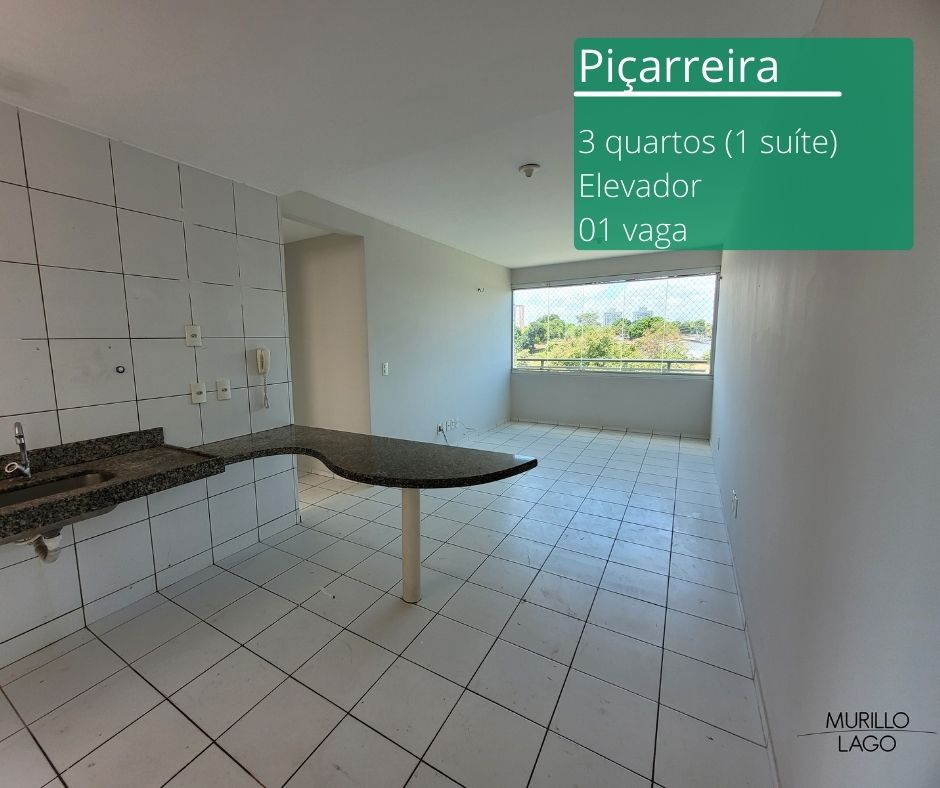 Apartamento para venda com 3 quartos sendo 1 suíte, elevador na avenida Presidente Kennedy em Teresina-PI