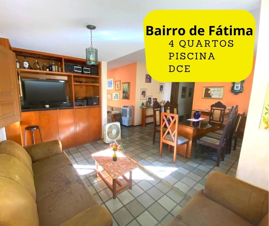 Casa para venda com 4 Quartos e 4 banheiros à Venda, 275 m² por R$ 699.900 no bairro de Fátima em Teresina-PI