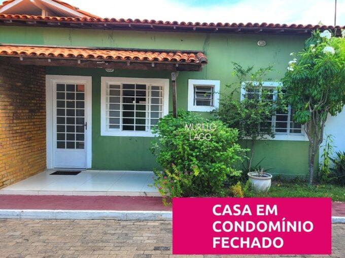 Casa em condomínio fechado para venda no bairro Piçarreira em Teresina-PI